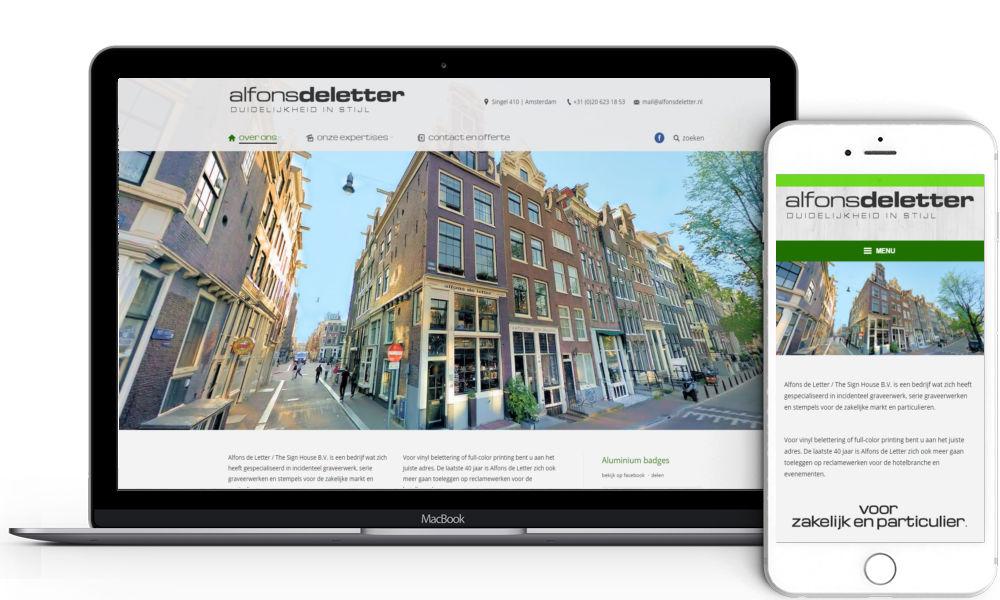 Alfons de Letter Amsterdam