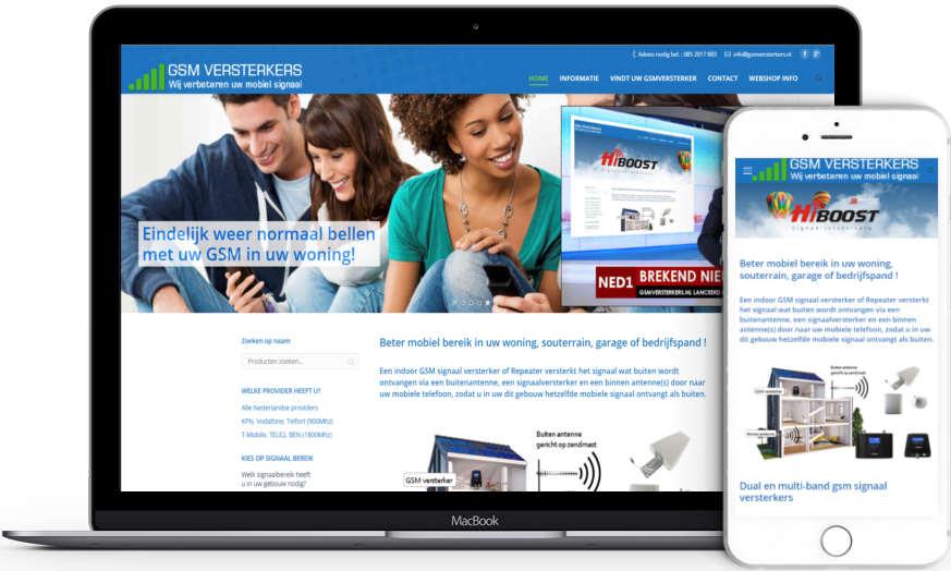 Website gsmsignaalversterkers